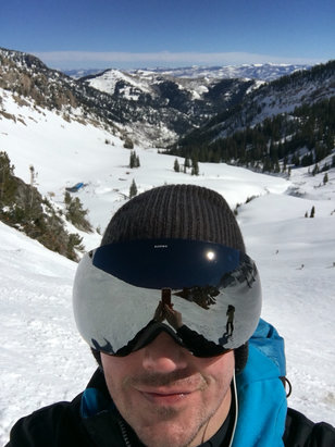 Snowbird - Great day in the basin.  - ©Jeremy's iPhone