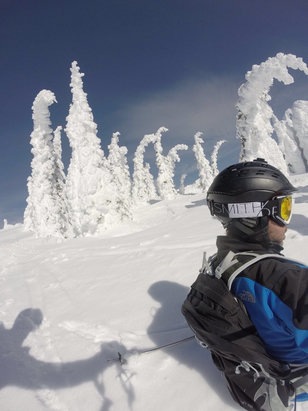Whitefish Mountain Resort - Firsthand Ski Report - ©Meños iPhone