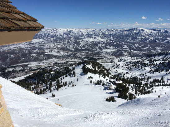 Snowbasin - Great Spring conditions! Very buttery with excellent grooming.  - ©Ryan