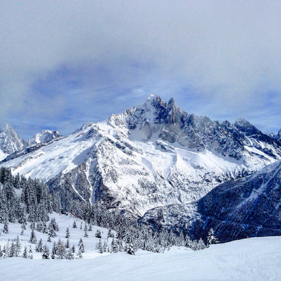 Chamonix Mont-Blanc - Brevent - ©Onder's iPhone