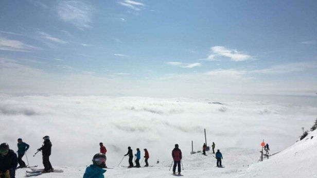 Whiteface Mountain Resort - little bit of heaven at whiteface today.  - ©13kahuna13