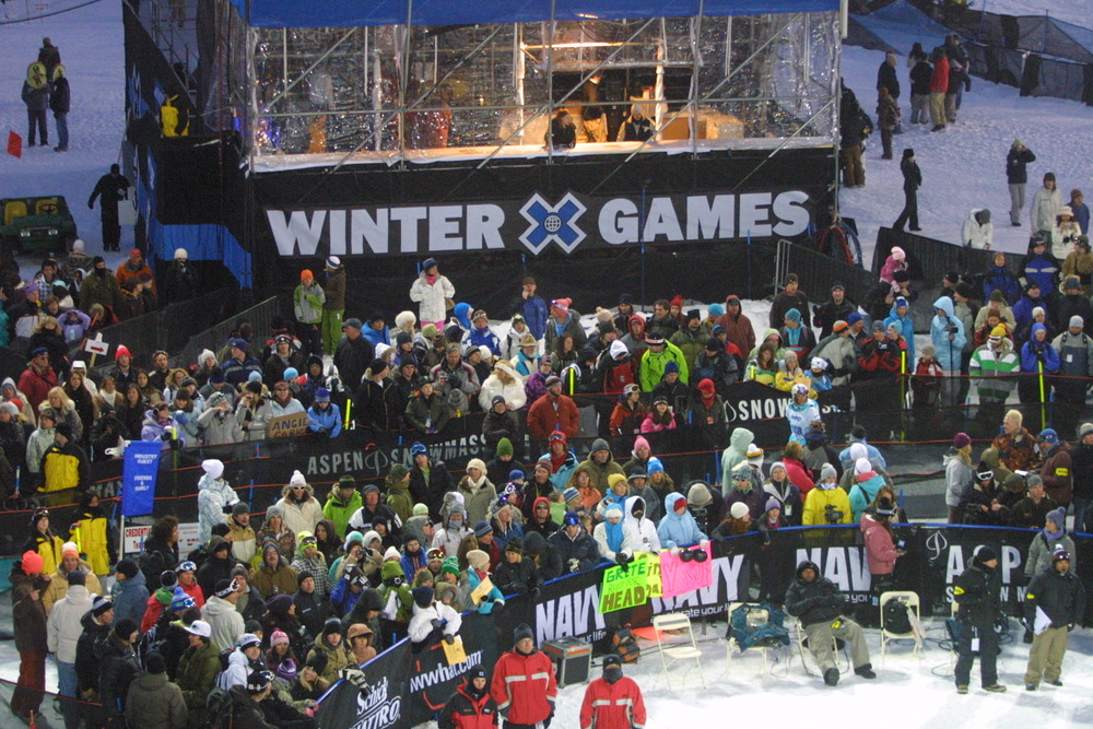 The Winter X Games at Tignes, France
