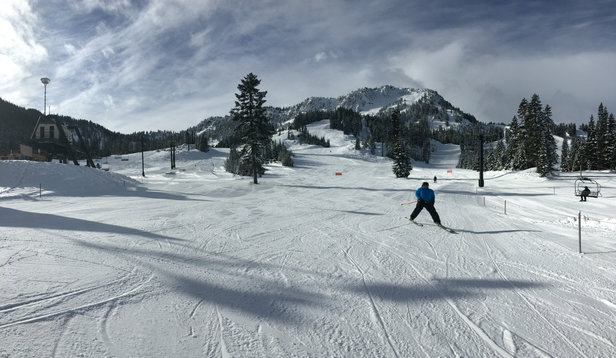 Stevens Pass Resort - Firsthand Ski Report - ©Kari's iPhone
