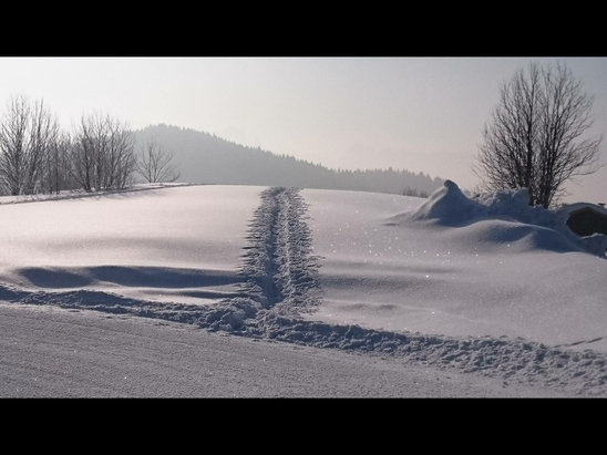 Praz de Lys Sommand - Early morning run 12th March.  - ©stewart.ingram's iPad