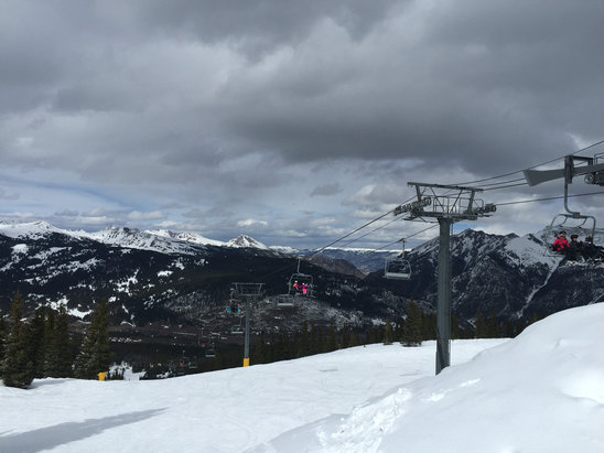 Copper Mountain Resort - Awesome views before the snow rolled in yesterday! - ©Amory Jimmy