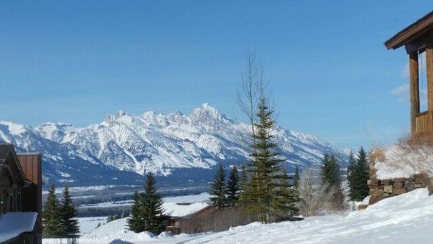 Tamarack Resort - February 21, 2016.  delightful on top of the mountain and lovely to ski - ©dr.ellen.beauchamp
