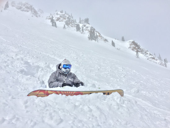 Park City - Amazing conditions today  - ©Eddy Art's iPhone