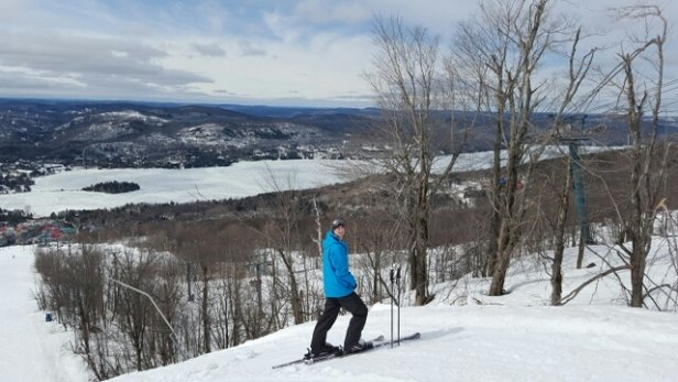 Tremblant - Spring conditions but still pretty good! - ©miro