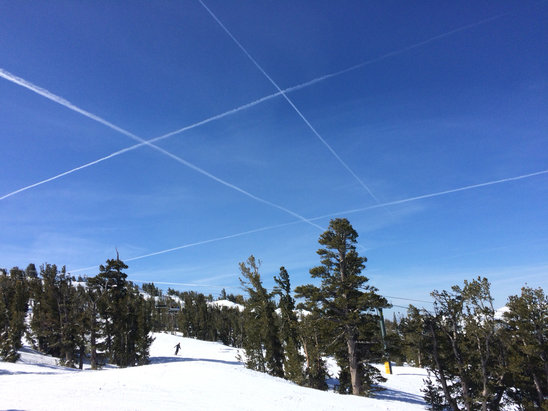 Heavenly Mountain Resort - Tic tac toe Heavenly style - ©Ray's iPhone