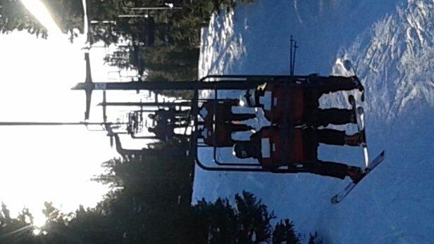 Ski Cooper - Sunrise on the double.  - ©gkbarrett00