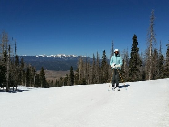 Angel Fire Resort - Spring has sprung... had a blast 11-2 when snow softened.  50 degree temps and hardly a lift line.  Yes Taos has better snow, but there is a fun day to be had at AFR - ©Taoski