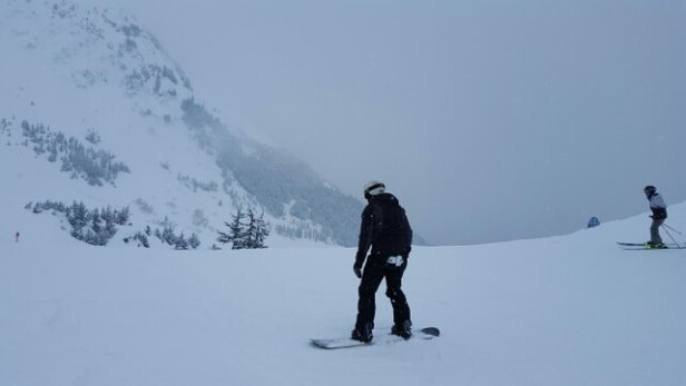 Alyeska Resort - powpow and keeps coming down! - ©pawntec