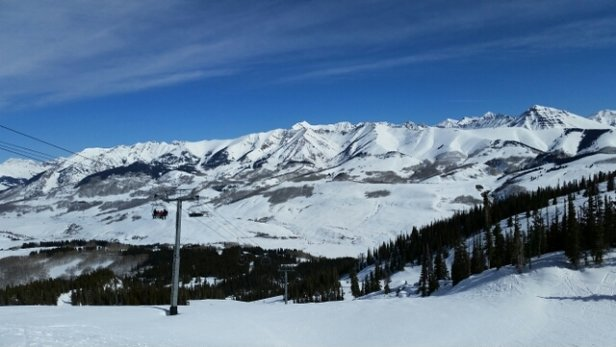 Crested Butte Mountain Resort - blue bird day - ©clintmusgrove24