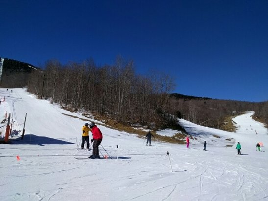 Sunday River - awesome conditions, beautiful day - ©miguelias