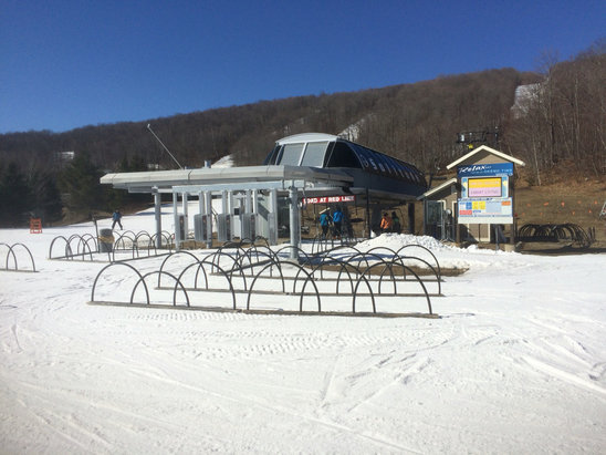 Okemo Mountain Resort - Still solid coverage this past weekend. Great job Okemo with what you had to work with this year.  - ©anonymous user