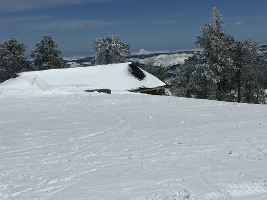 Terry Peak Ski Area - Great view of Bear Butte - ©David's iPhone