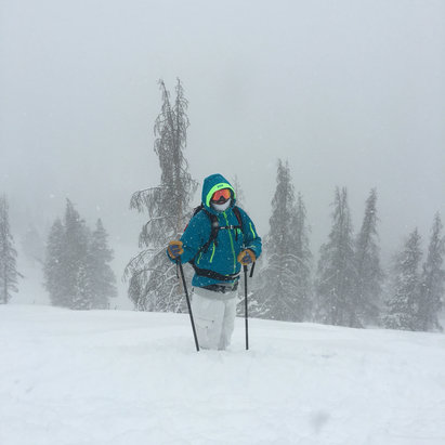 Vail - Endless powder ! More to come ! Bring it ! - ©Keith's Phone