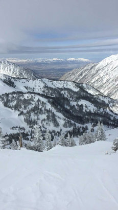 Snowbird - Great day yesterday. Road to Provo runs were great. Mineral basin was awesome.  - ©Matt