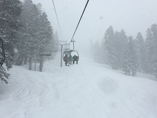 Northstar California - Firsthand Ski Report - ©John Messersmith's iPhon