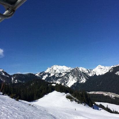 The Summit at Snoqualmie - litty sprang slush - ©Aileen Phone