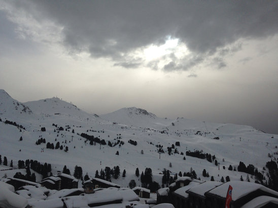 La Plagne - Firsthand Ski Report - ©Jane's iPhone