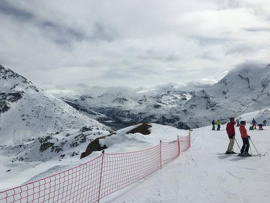 Sainte Foy Tarentaise - Firsthand Ski Report - ©Tony Harvey's iPhone