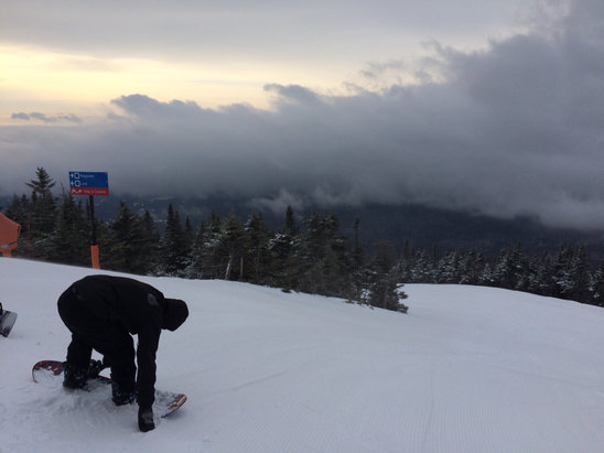 Stowe Mountain Resort - Firsthand Ski Report - ©Steven's iPhone