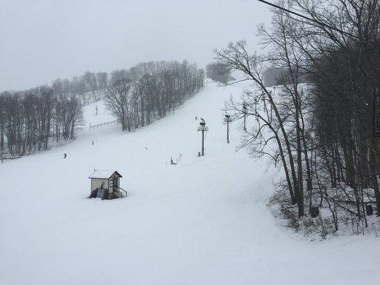 Boyne Mountain Resort - Nice today!  April 10th I'm glad boyne mountain keeps it open until Mother Nature says 'no more ' - ©Patrick