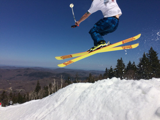Killington Resort - Pretty good. looks like the retreat to superstar continues tomorrow. last day for gondie.  - ©gbw