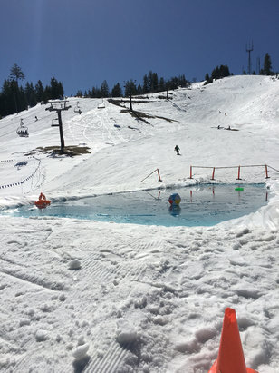 Bogus Basin - Closing day 4/17/16 - ©iPhone