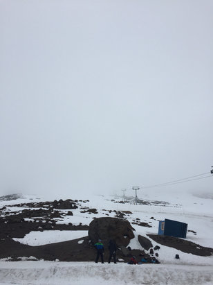 Timberline Lodge - Firsthand Ski Report - ©Tom's Phone