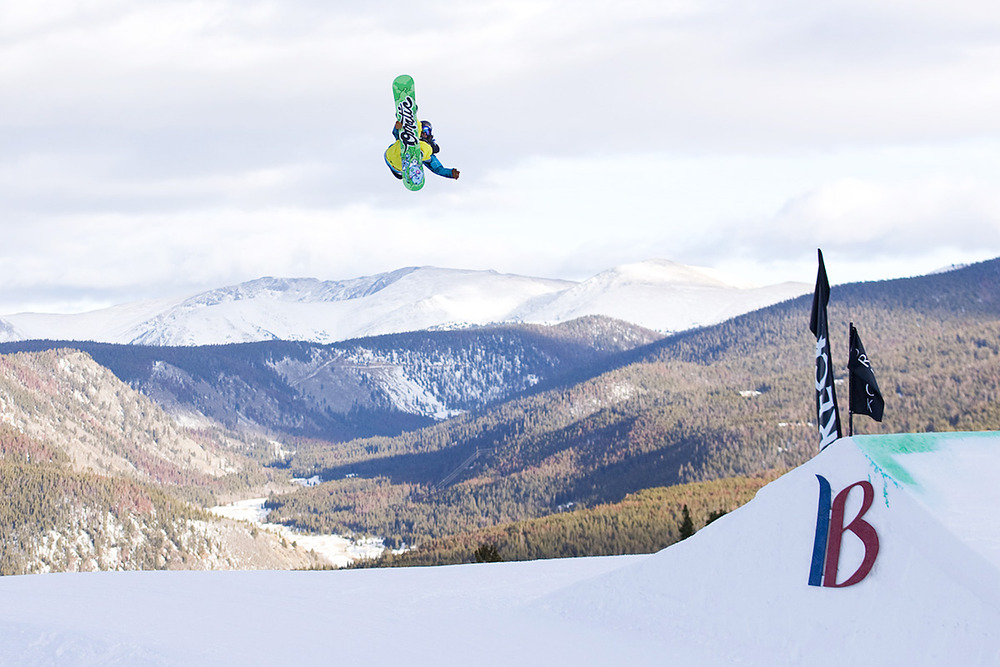 Eric Willet at Breckenridge CO Mountain Dew Tour
