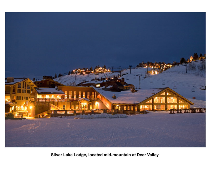 Silver Lake Lodge, located mid-mountain at Deer Valley