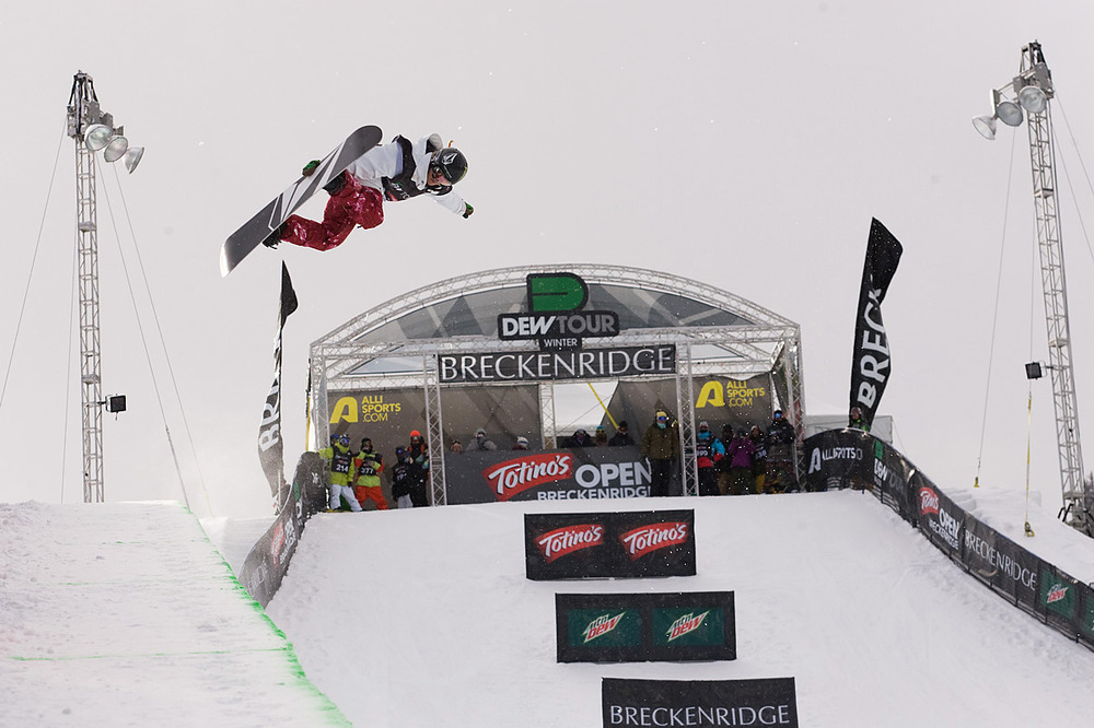 Elena Hight at Snowbasin UT Dew Tour