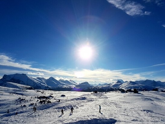 Sunshine Village - great start to the season. could find some pow here and there - ©anonymous