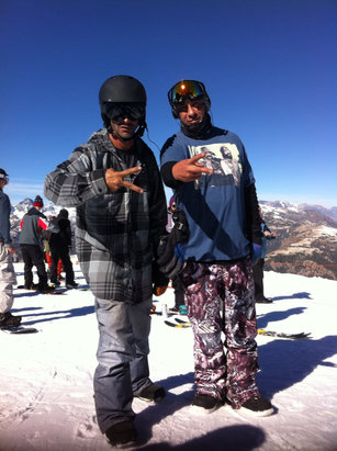 Mammoth Mountain Ski Area - Goon Squad  Closed it we opened it - ©local Kushman