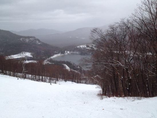 Cannon Mountain - Not bad for opening day  - ©smokeycarz