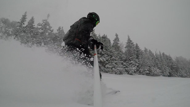 Killington Resort - Pow day this past friday. Getting better and better  - ©powder peter