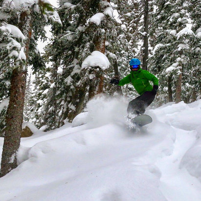 Monarch Mountain - Mixed bag of conditions today. Good snow off Pano, but Breezeway is closed, and Garfield maybe should be closed.  - ©Zach's iPhone