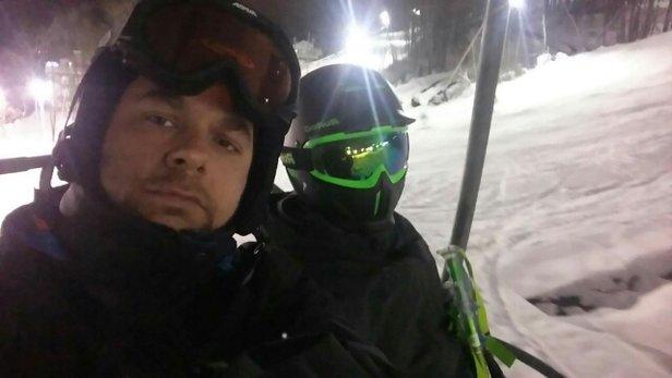 Ski Bromont - oh yeahhhhh - ©Paul leclerc et Christia