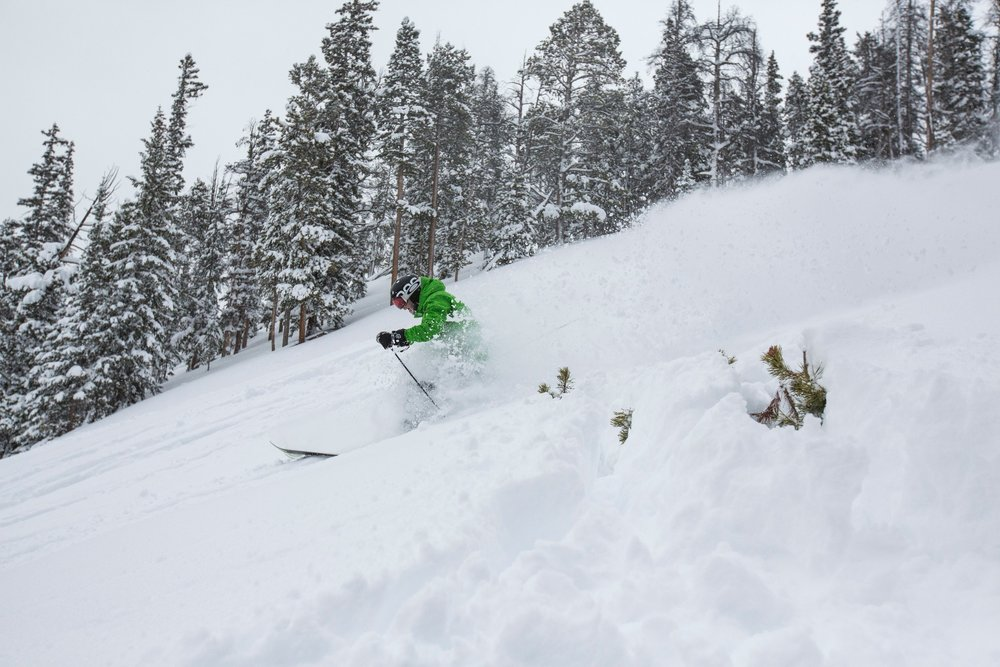 The getting is GOOD at Keystone this week! - ©Mackenzie Russo