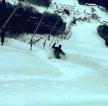 Killington Resort - Here's what you missed at ktown Saturday if you knew where to look   - ©the poacher