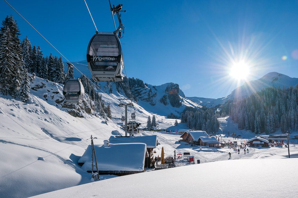 Montriond - ©Yvan Tisseyre / OT Vallée d'Aulps