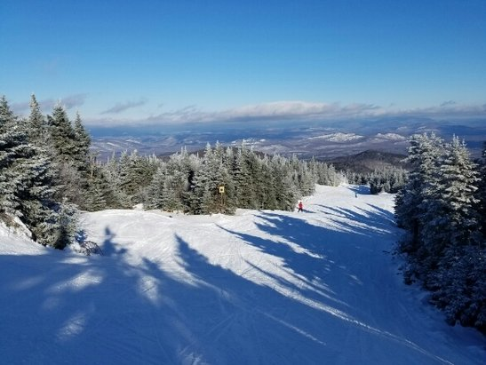 Gore Mountain - Bluebird day.  No one here.  Topridge  was a hoot.  Great day.   - ©summit_skier