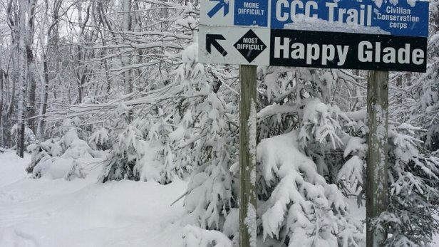 Holiday Valley - Fantastic powder Conditions dumped all day long friday Dec 30th! - ©toots.toro