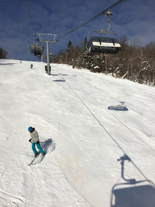 Mont Sainte Anne - Great day skiing! - ©Chris Iphone