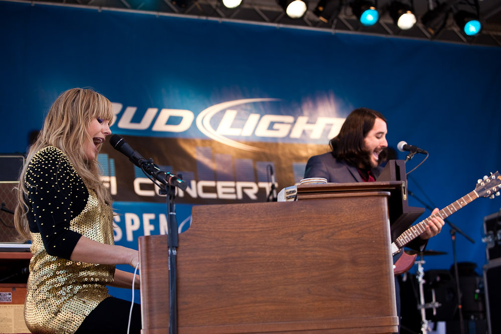 Grace Potter performing at Aspen