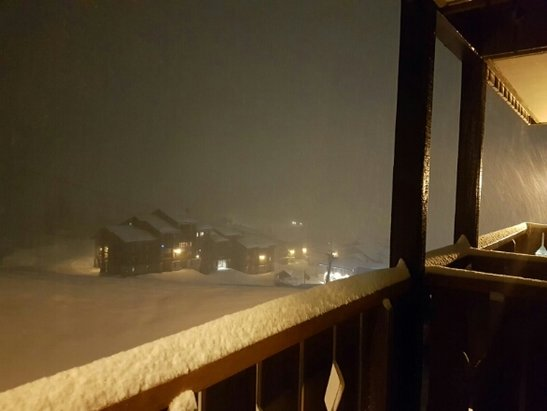 La Plagne - Lots of fresh snow in Belle Plagne :) - ©anonymous