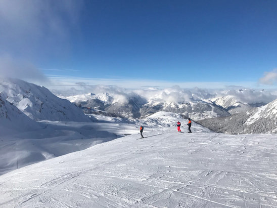 La Plagne - Conditions great now . Really cold but pistes are lovely.  - ©Jon M