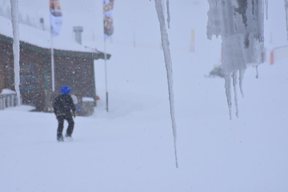 Big snowfalls in Grandvalira, Andorra 16.1.17 - ©Grandvalira/Facebook